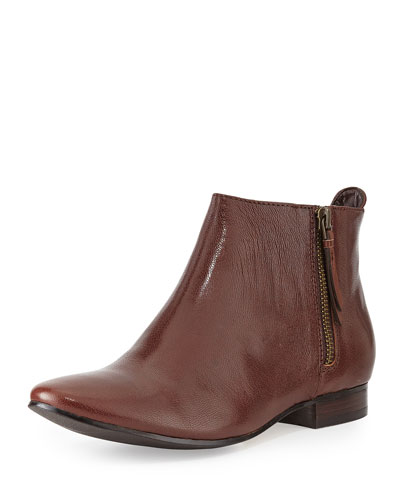 Cole Haan Belmont Leather Bootie Chestnut