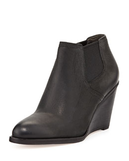 Cole Haan Balthasar Leather Bootie, Black
