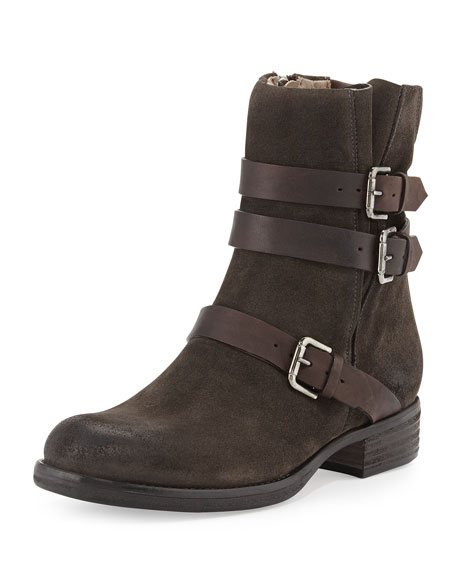 Triumvirate Suede Ankle Boot, Tmoro
