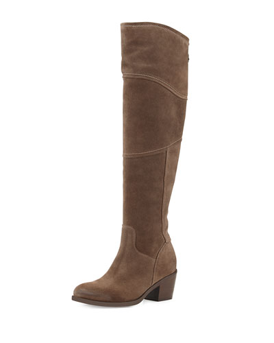 Alberto Fermani Circio Tall Knee Boot, Tortora