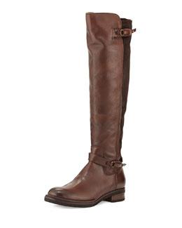 Alberto Fermani Adria Leather/Suede Boot, Tmoro