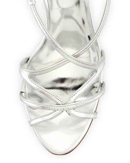 e1f4f18e74f Badgley Mischka Ava-II Strappy Slingback Evening Sandal
