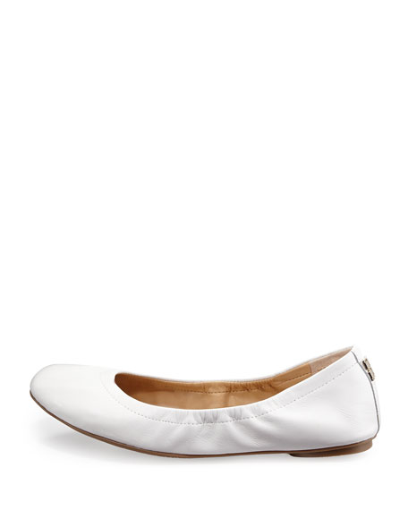 Molly Slip-On Nappa Flat, White