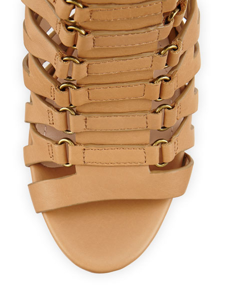 Chunky Gladiator Bootie, Cigar