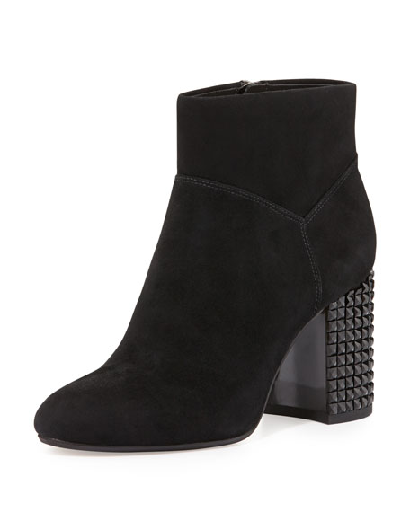 Black Studded Ankle Boots | Neiman Marcus