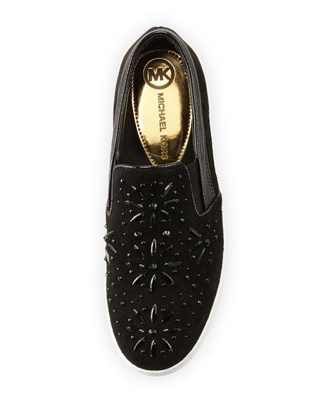 Nadine Embellished Slip-On Sneaker