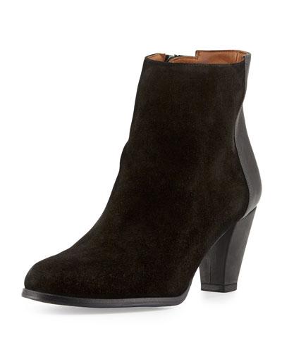 Delman Alysa Mid-Heel Ankle Boot