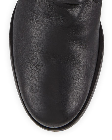 Max Short Moto Boot, Black