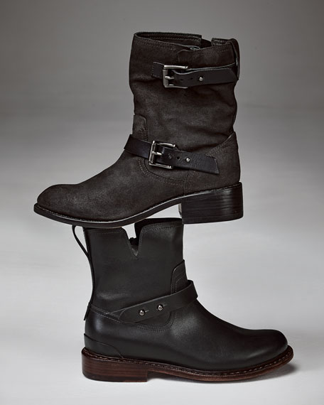 fast delivery online discount limited edition Rag & Bone Suede Moto Boots TAonYtkJoh