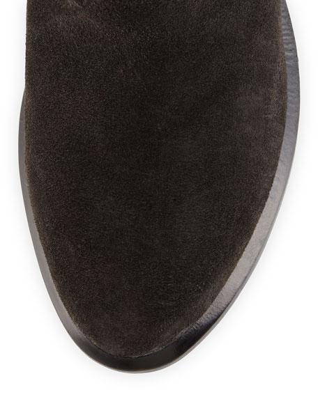 Grayson Suede Ankle Boot, Asphalt