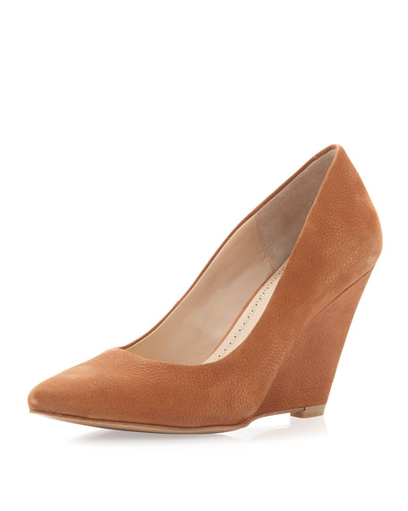 Pour la Victoire Maia Wedge Pointed Toe Pump,