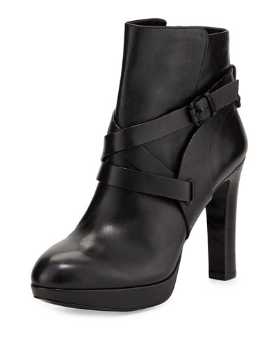 VC Signature Fantasio High-Heel Bootie, Nero