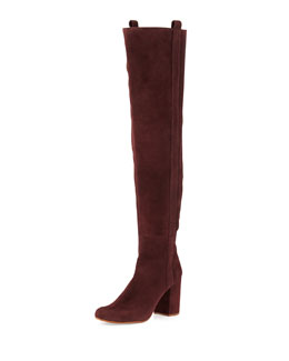 VC Signature Kylar Suede Over-the-Knee Boot