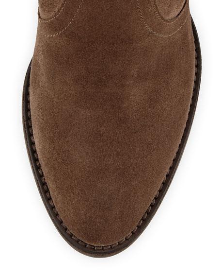 Farah Suede Ankle Boot, Mud Rub (Brown)