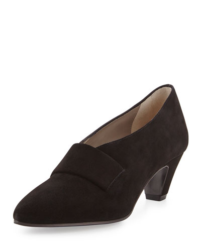 Aquatalia Bernadine Stretch Bootie, Black