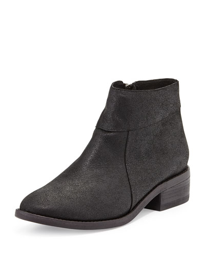 Eileen Fisher Lot Low-Heel Ankle Boot, Black