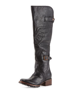 Freebird Quebec Tall Equestrian Boot, Black