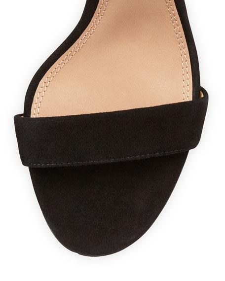 Keri Suede Ankle-Strap Sandal