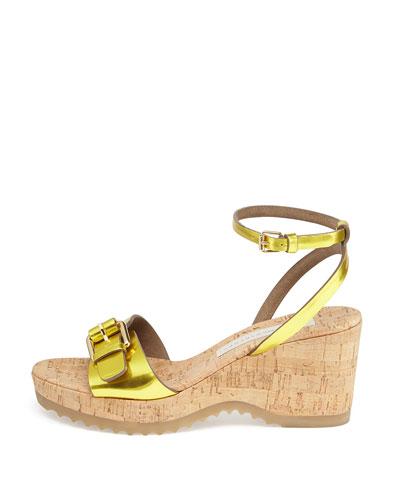 Stella Mccartney Asymmetric Sandal Heels Nude Sz 40 5