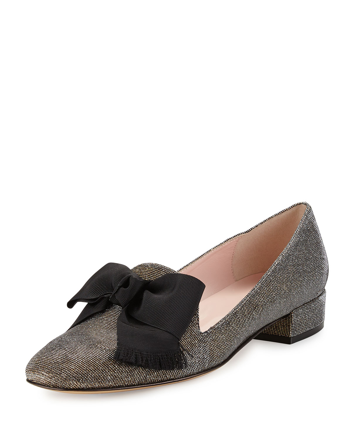 d23c9cabf85 kate spade new york gino glitter bow loafer pump