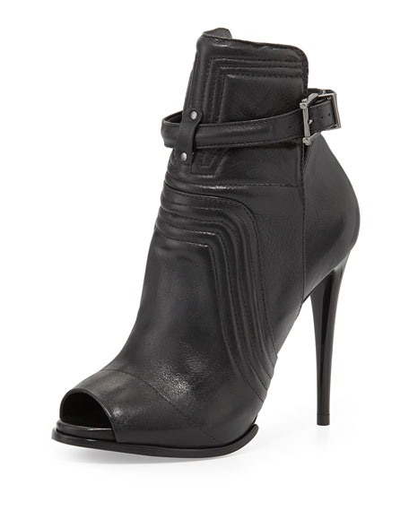Poliany Cut Out Bootie, Black