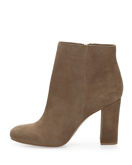 Make Believe Suede Bootie, Clay