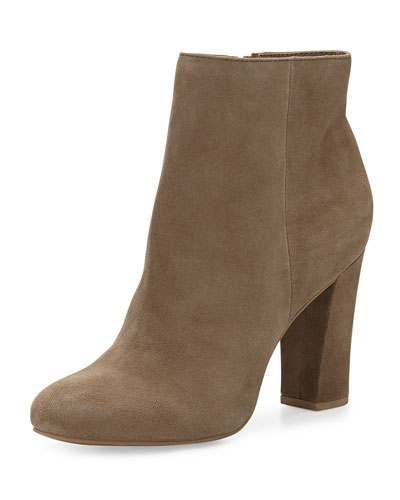 Seychelles Make Believe Suede Bootie, Clay