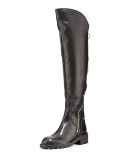 Ash Seven Zipper-Detail Boot