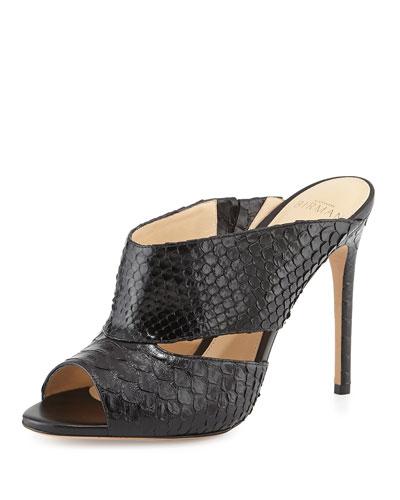 Python Slide Sandal, Black