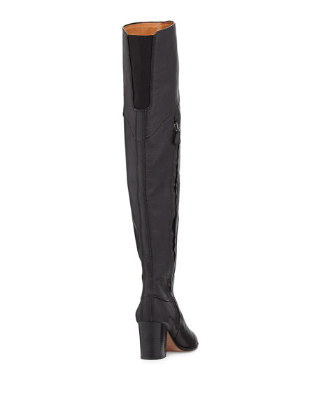 e4bdba14161 Rebecca Minkoff Blessing Leather Over-the-Knee Boot