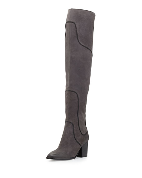 5eebc235c0e Rebecca Minkoff Blessing Suede Over-the-Knee Boot