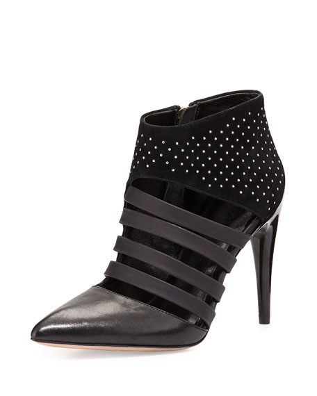 Ceasar Studded Point-Toe Bootie
