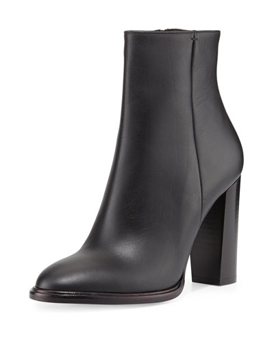 Vince Overton Leather Bootie, Black