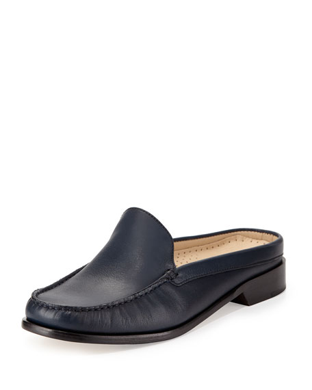 Cole Haan Ryann Leather Mule Slide, Blazer Blue