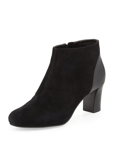 Cole Haan Miriam Suede Ankle Boot, Black
