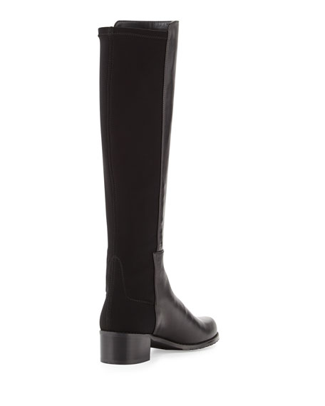 Mezzamezza Napa Knee Boot, Black