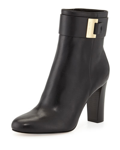 MICHAEL Michael Kors <MKFMGLOBALCOPY-mmk> Giuliana Leather Bootie