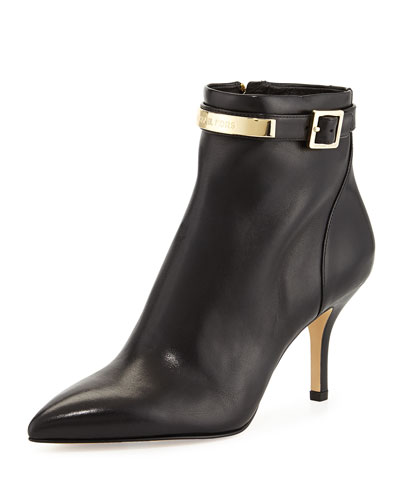 MICHAEL Michael Kors <MKFMGLOBALCOPY-mmk> Harding Leather Bootie
