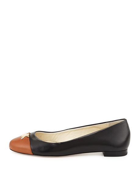 Hayley Cap-Toe Ballet Flat