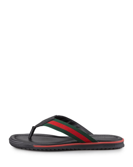 GG Beach Thong Sandal, Black