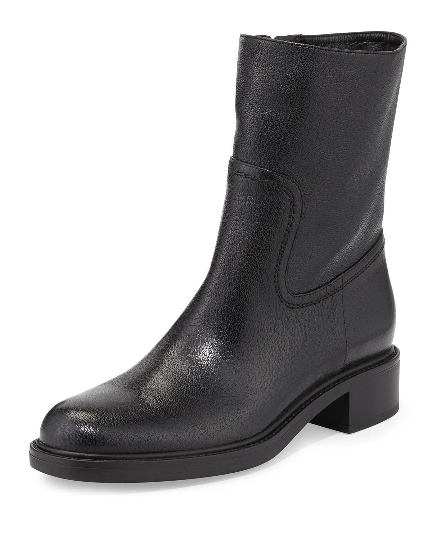 b504db275b4 Maud Leather Ankle Boot, Black