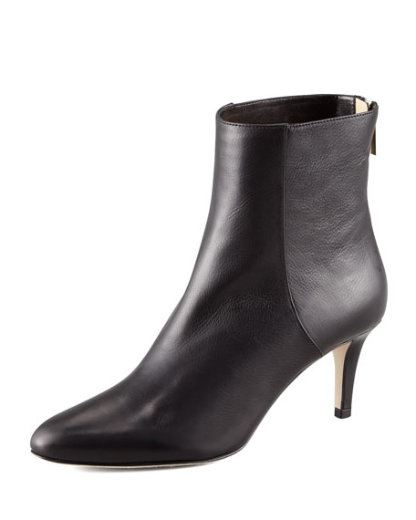 Jimmy Choo Brody Leather Ankle Bootie
