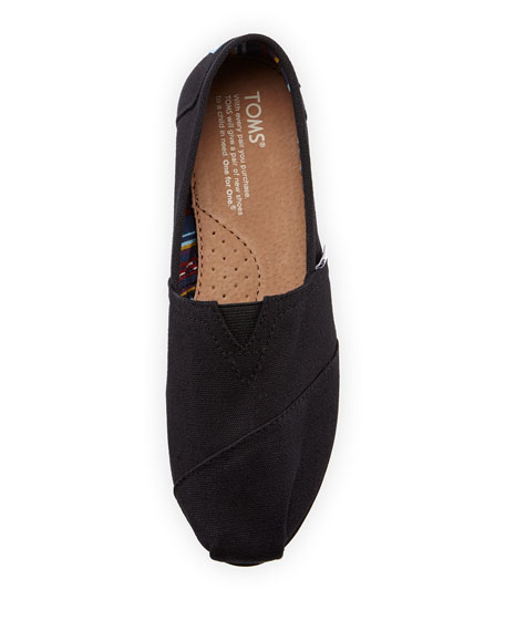 Canvas Classic Slip-On, Black