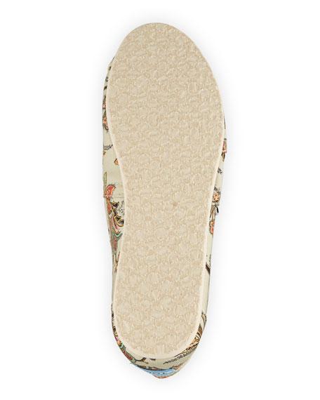 Classic Vintage Paisley Slip-On