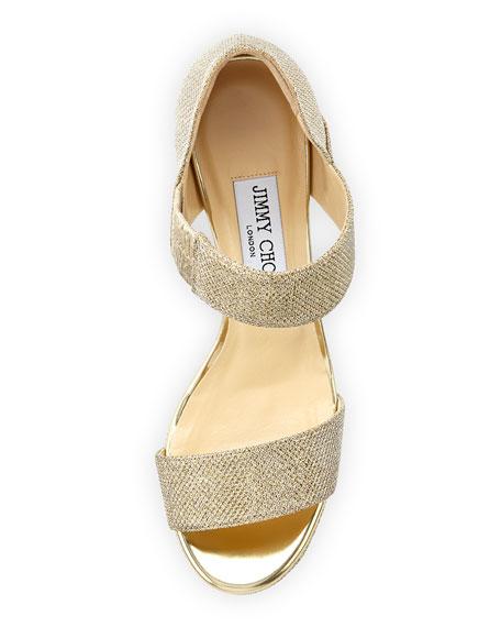 jimmy choo sandals gold