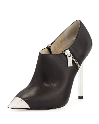MICHAEL Michael Kors <MKFMGLOBALCOPY-mmk> Zady Leather Bootie