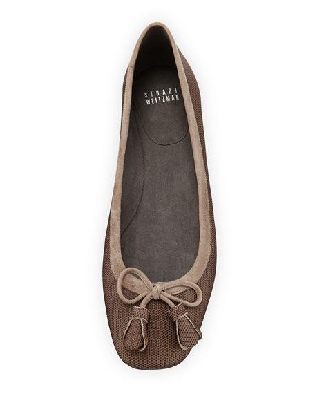 Tulipbow Goosebump Ballerina Flat, Topo