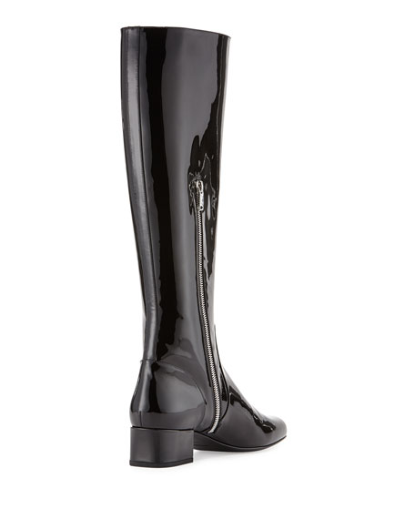 Saint LaurentPatent Leather Boots NT771JmZ