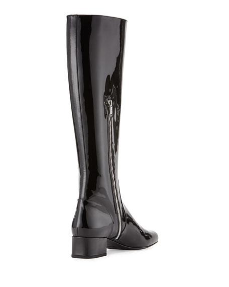Saint LaurentPatent Leather Boots lKCRPa