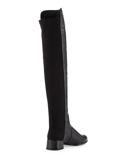 Fifo Patent Stretch Over-the-Knee Boot